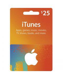 iTunes Gift card (USA)-$25