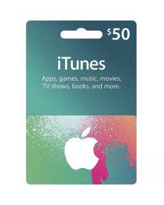 iTunes Gift card (USA)-$50