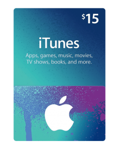 iTunes Gift card (USA)-$15
